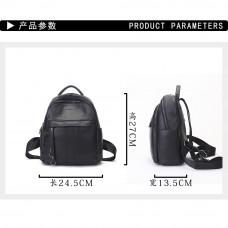 Рюкзак кожаный MIRONPAN 9037 цвет Черный