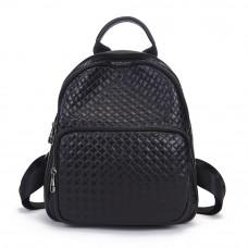Рюкзак женский кожаный MIRONPAN 9032 цвет Черный