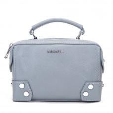 Женская кожаная сумка MIRONPAN 9031 цвет Синий пепел