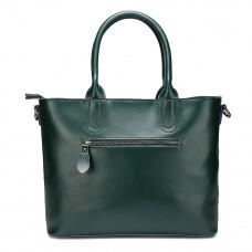 Женская кожаная сумка MIRONPAN 6805 цвет Темно-зеленый