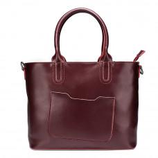 Женская кожаная сумка MIRONPAN 6805 цвет Бордовый