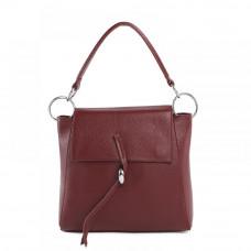 Женская кожаная сумка MIRONPAN 1117 цвет Бордовый