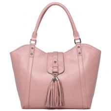 Женская кожаная сумка MIRONPAN 1160 цвет Пудра