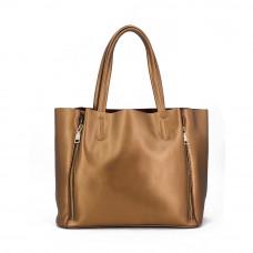 Женская кожаная сумка MIRONPAN 16017 цвет Золото