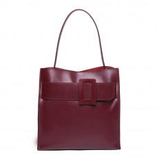 Женская кожаная сумка MIRONPAN 161033 цвет Бордовый