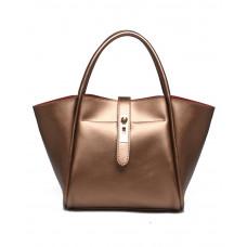 Женская кожаная сумка MIRONPAN 15112 цвет Золото