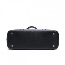 Большая женская черная сумка MIRONPAN 160333 из кожи