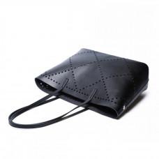 Женская кожаная сумка MIRONPAN 160333 цвет Серебро