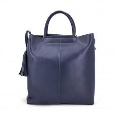 Женская кожаная сумка MIRONPAN 160718 цвет Темно-синий