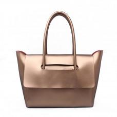 Женская кожаная сумка MIRONPAN 16386 цвет Золото