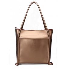 Женская кожаная сумка MIRONPAN 16011 цвет Золото