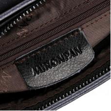 Женская сумка из натуральной кожи MIRONPAN 6803 цвет Темно-синий