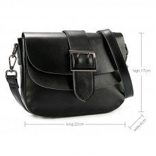 Женская сумка из натуральной кожи MIRONPAN 6803 цвет Пудра