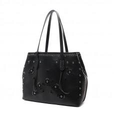 Женская кожаная сумка MIRONPAN 70227 цвет Молочный