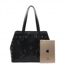 Женская кожаная сумка MIRONPAN 70227 цвет Пудра