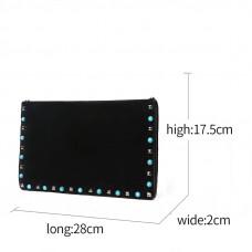 Женская кожаная сумка MIRONPAN 80223-1 цвет Зеленый