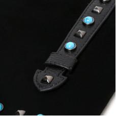 Женская сумка из натуральной кожи MIRONPAN 80223-1 цвет Темно-синий