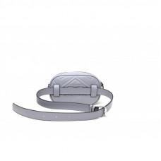 Женская сумка из натуральной кожи MIRONPAN 80220 цвет Темное серебро