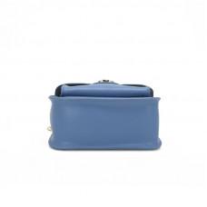 Женская кожаная сумка MIRONPAN 1601 цвет Синий пепел