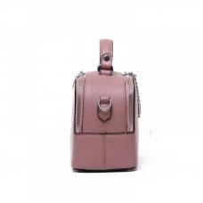 Женская сумка из натуральной кожи MIRONPAN 181209 цвет Темное серебро