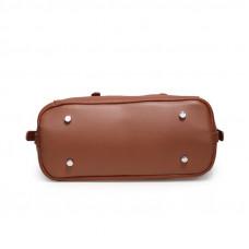 Женская кожаная сумка MIRONPAN 52857 цвет Черный