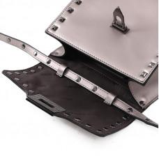 Женская кожаная сумка MIRONPAN 80222 цвет Черный