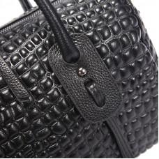 Женская кожаная сумка MIRONPAN 88004 цвет Коричневый
