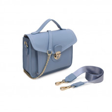 Женская сумка из натуральной кожи MIRONPAN 1602 цвет Пудра