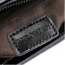 Маленькая женская кожаная сумка на плечо MIRONPAN 6802 цвет Синяя