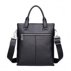 Мужская сумка из кожи MIRONPAN 50502 цвет Черный