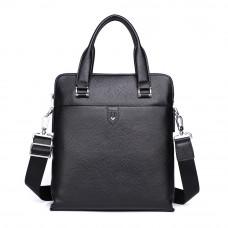 Мужская сумка из кожи MIRONPAN 51012 цвет Черный
