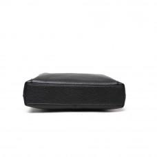 Мужская сумка из кожи MIRONPAN 80255 черного цвета