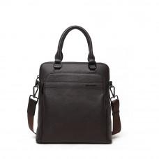 Мужская сумка из кожи MIRONPAN 80255 Коричневый
