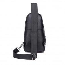 Мужская кожаная сумка MIRONPAN 880222 цвет Черный