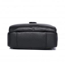 Мужская кожаная сумка MIRONPAN 26281 цвет Черный