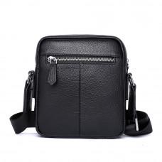 Мужская сумка из кожи MIRONPAN 26301 цвет Черный