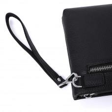 Мужской кожаный клатч MIRONPAN 50301 Черный