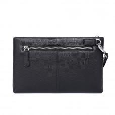 Мужской кожаный клатч MIRONPAN 53161 Черный