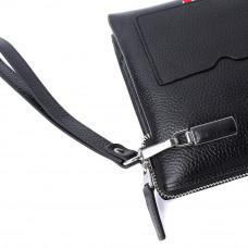 Мужской кожаный клатч MIRONPAN 62681 Черный