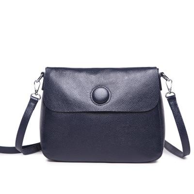 Женская кожаная сумка MIRONPAN 1055 цвет Темно-синий